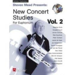 Steven Mead; New Concert Studies for Euphonium TC, Volume 2