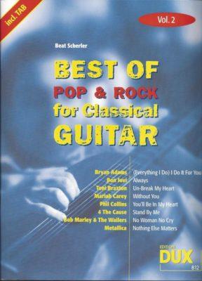 Best Of Pop & Rock, vol.2 Classical Guitar