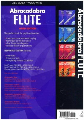 Abracadabra Flute, Third Edition (ZONDER CD)