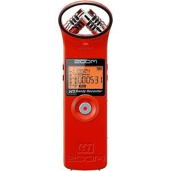 Zoom H1 Handy Recorder Red