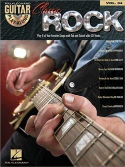 Guitar Play-Along; Volume 34: Classic Rock