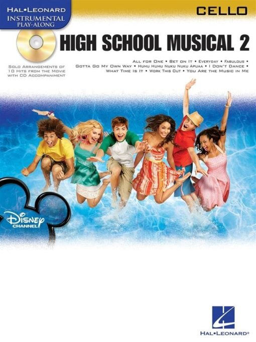 Hal Leonard Instrumental Play-Along: High School Musical 2 (Cello)