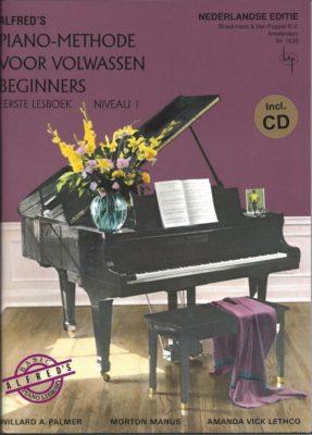 Alfred's Pianomethode Volwassen Beginners 1 (+CD)