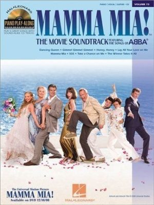 Piano Play Along, Vol. 73: Mamma Mia! The Movie