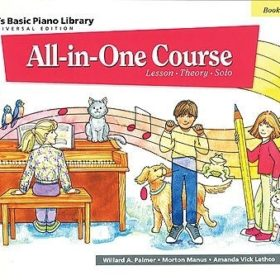 Alfred's Basic Piano Library; All In One Course 1