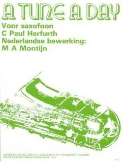 A Tune a Day deel 1 - Saxophone