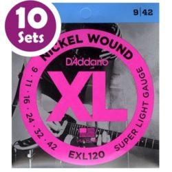D'addario EXL120 10 Pack