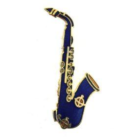 Broche: Saxofoon B