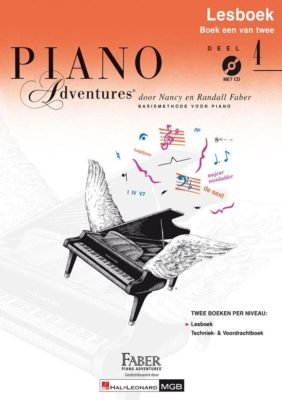 Piano Adventures: Lesboek 4 (NL)