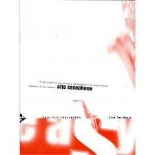 Jim Snidero; Easy Jazz Conception alt sax