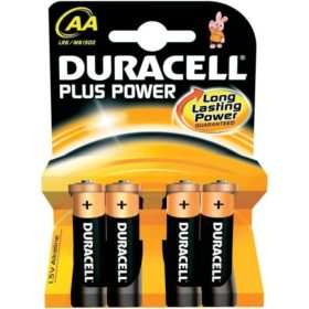 Duracell Simply AA LR6 4 Pack