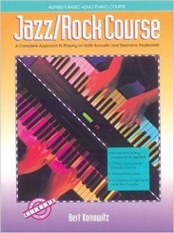 Alfred's Basic Adult Piano Course; Jazz/Rock Course