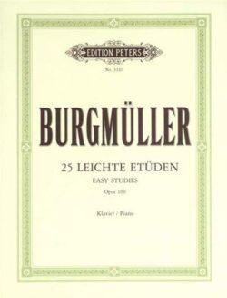 Burgmüller; Etudes Opus100