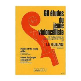 Feuillard; 60 Etudes Jeune Violoncelliste