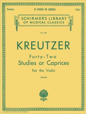 Kreutzer; 42 Studies or Caprices