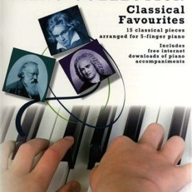 Easiest 5-Finger Piano Collection: Classical favorites