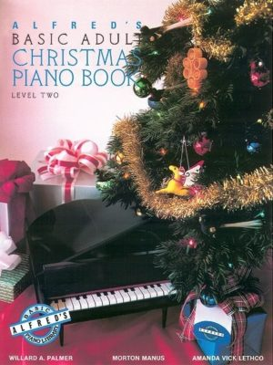 Alfred's Basic Adult; Christmas Piano Book, level 2