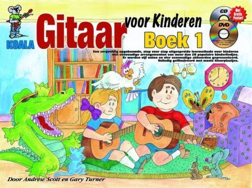 Gitaar voor Kinderen, Boek 1 (+CD +DVD)