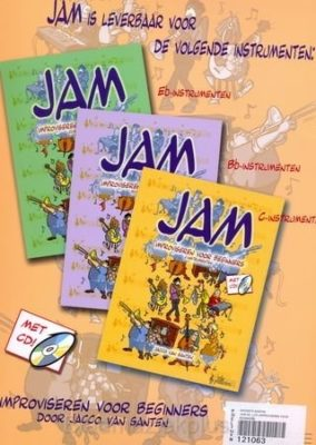 Jam; Improviseren Voor Beginners (in Eb)