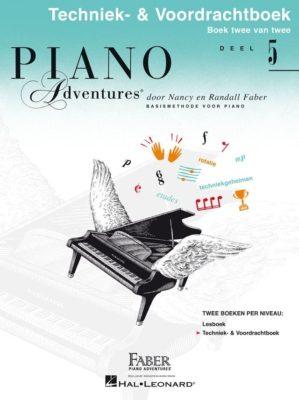 Piano Adventures: Techniek & Voordrachtboek bij Deel 5 (NL)