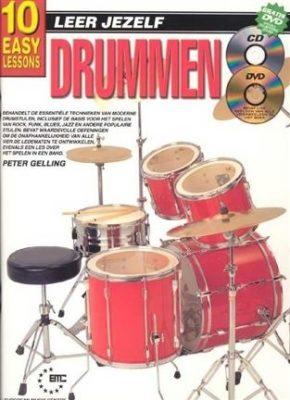 Leer Jezelf Drummen (Boek + CD + DVD)