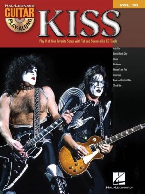 Guitar Play-Along, Volume 30; KISS