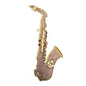 Broche: Saxofoon Z