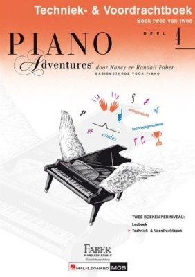 Piano Adventures: Techniek & Voordrachtboek bij Deel 4 (NL)