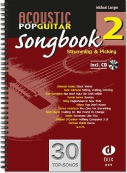 Acoustic Pop Guitar Songbook 2
