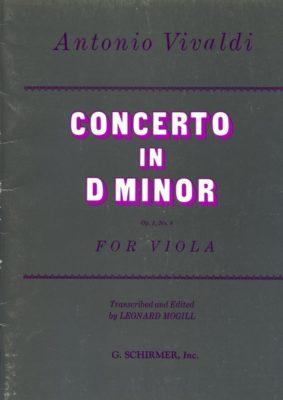 Vivaldi; Concerto in D Minor; Opus 3 No. 6