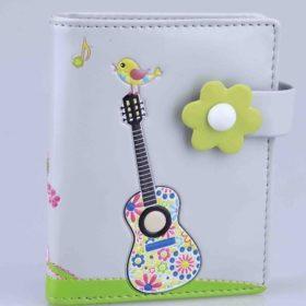 Wallet: Hippy Guitar Small