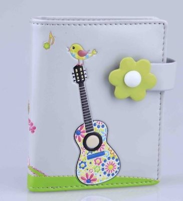 Wallet: Hippy Guitar Small