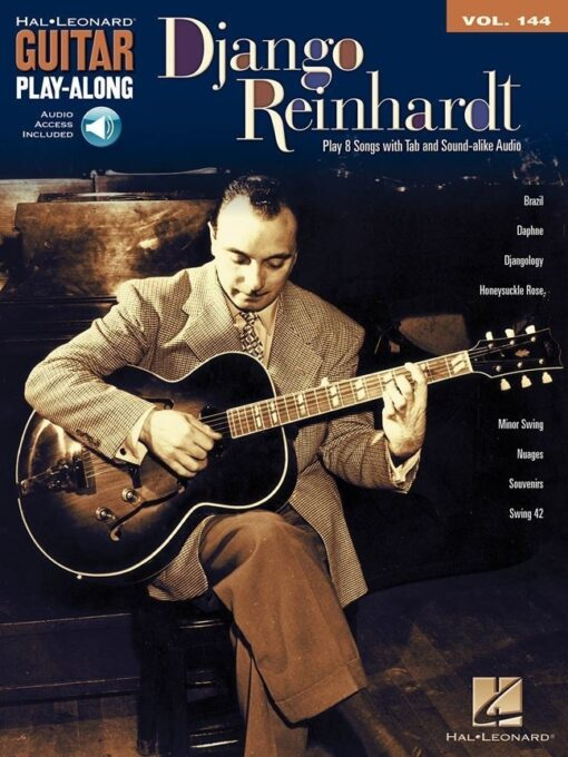 Guitar Play-Along Volume 144; Django Reinhardt