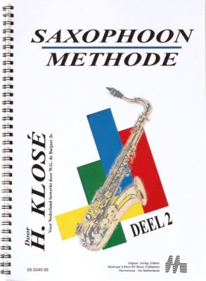H. Klose: Saxophoon Methode, deel 2
