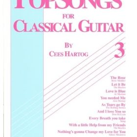 Popsongs For Classical Guitar 3