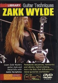 Zakk Wylde - Guitar Techniques