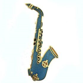 Broche: Saxofoon LB