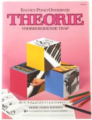 Bastien Piano Onderwijs - Theorie bij Voorbereidende Trap