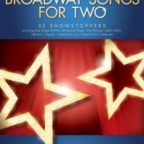 Broadway Songs for Two Clarinets