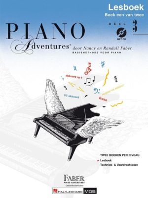 Piano Adventures: Lesboek 3 (NL)