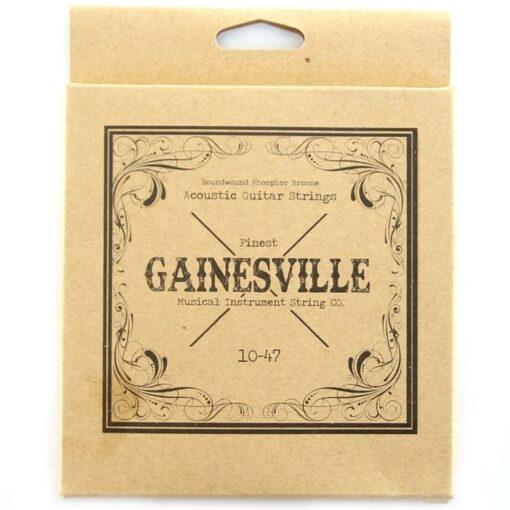 Gainesville 010-047 Acoustic Phosphor Bronze