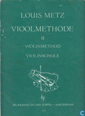 Louis Metz; Vioolmethode 2