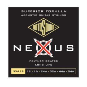 Rotosound NXA12 Nexus Polymer Coated Long Life