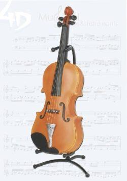 Strijkinstrument Spaarpot incl. Statief 4D Model