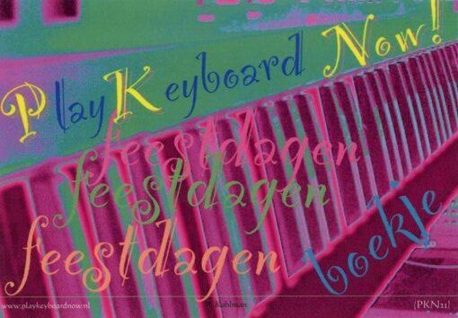 Play Keyboard Now; Feestdagen Boekje