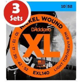 D'addario EXL140 3 Sets