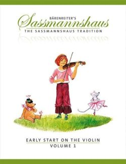 Sassmannshaus; Early Start on the Violin, Volume 1 (EN)