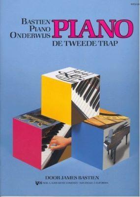 Bastien Piano Onderwijs; de Tweede Trap (NL)