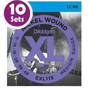D'addario EXL115 10 Sets