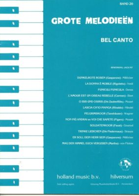 Grote Melodieen 20; Bel Canto